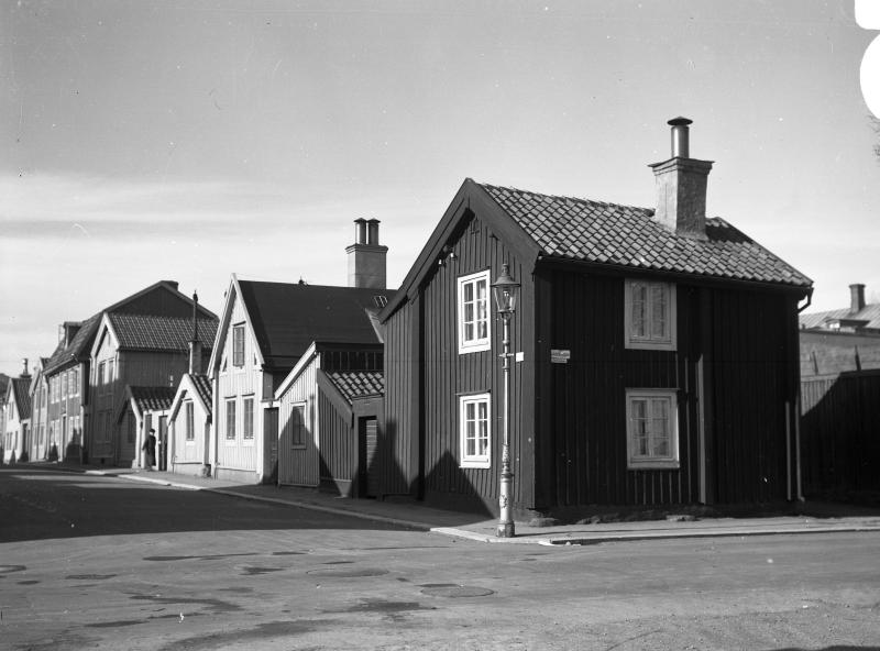 Kattrumpan, östra delen av kv Skoflickaren vid Norra Långgatan