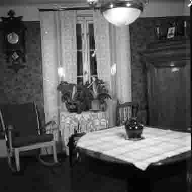 Köpman Johan Larssons hem Norra Långgatan 55 31/11 1960