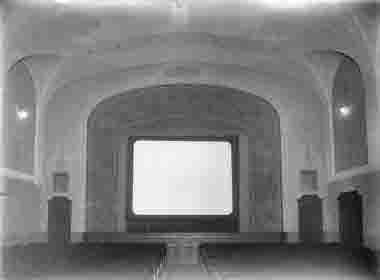 Biograf Palladium interiör biolokalen