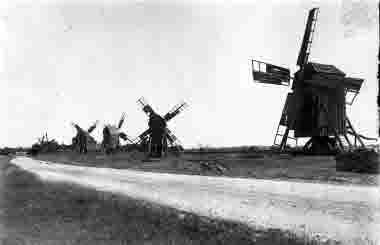 Väderkvarnar vid Störlinge 1932