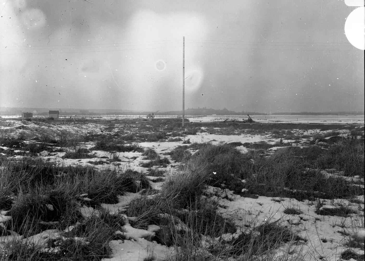 Fredriksskans, vy mot Malmfjärden och Ängö