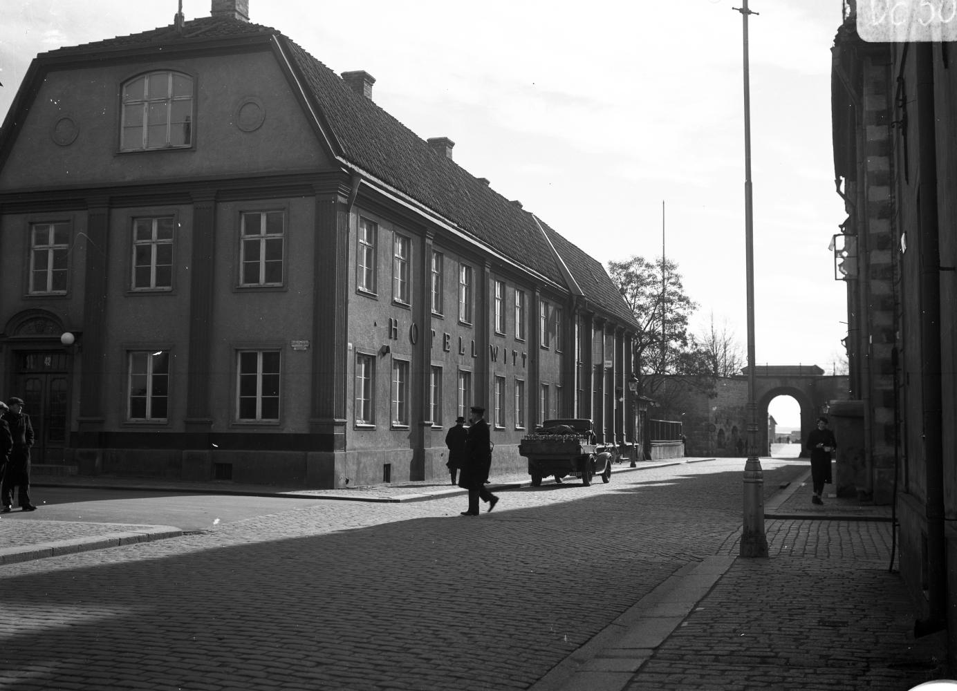Gamla Hotell Witt mot Östra Sjögatan