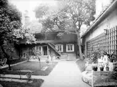 Västra Sjögatan 4 gårdsinteriör Stadsarkitekt Olssons gård