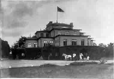 Stävlö slott. årtal okänt