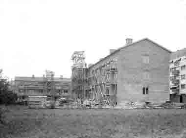 HSB  nybygge vid Frejagatan