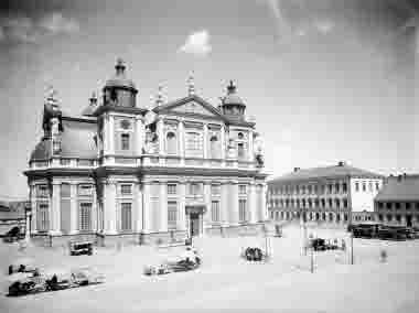 Stortorget Domkyrkan Stadshuset