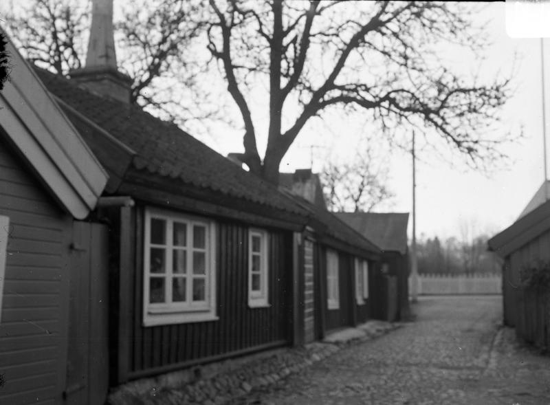 Vasagatan mot söder från Gamla Kungsgatan omkr 1930