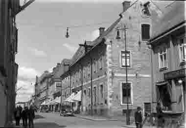 Kaggensgatan från Ölandsgatan 1936