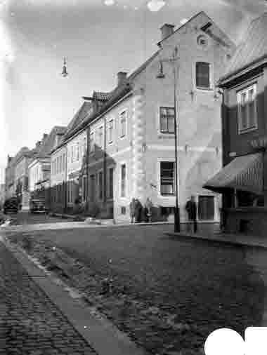 Hörnet Kaggensgatan - Ölandsgatan, Anderzénska huset omkr 1930
