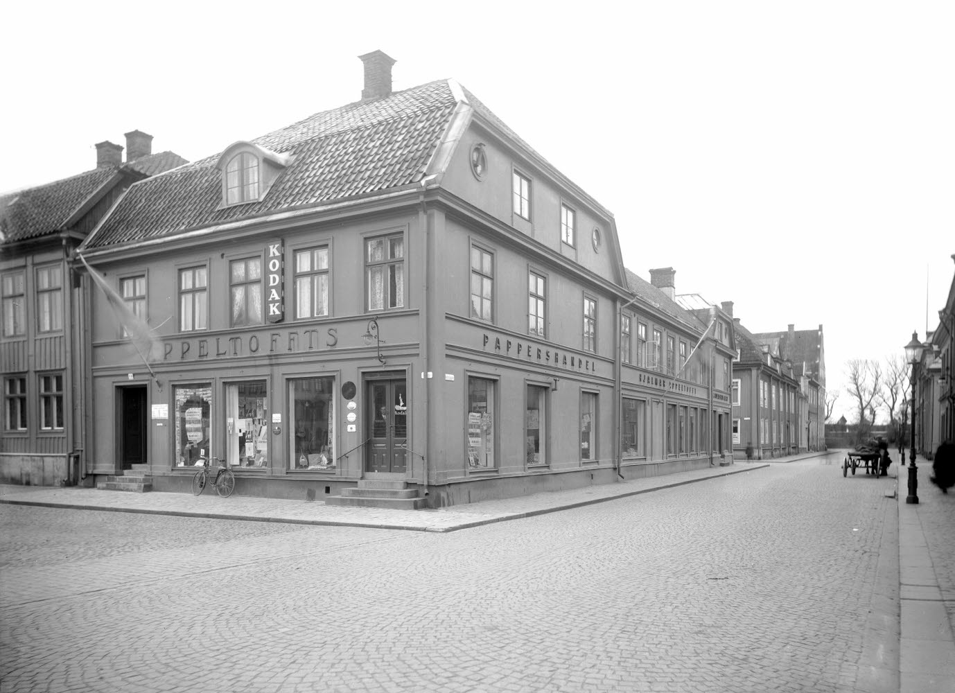 Appeltoffts Pappershandel Stortorget Västra Sjögatan