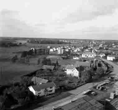 Utsikt från silot åt norr Bergkvara 1956