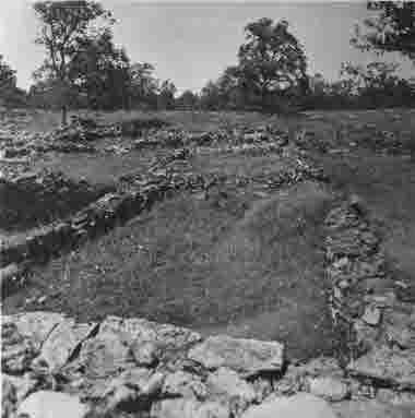 Ismanstorps borg Långlöts socken 1946