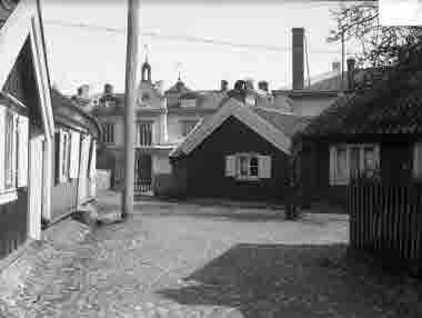 Torget vid Gamla Kungsgatan omkr 1930