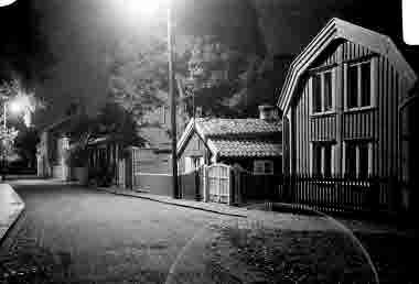 Gamla stan, Västerlånggatan, kv Asken, nattbild