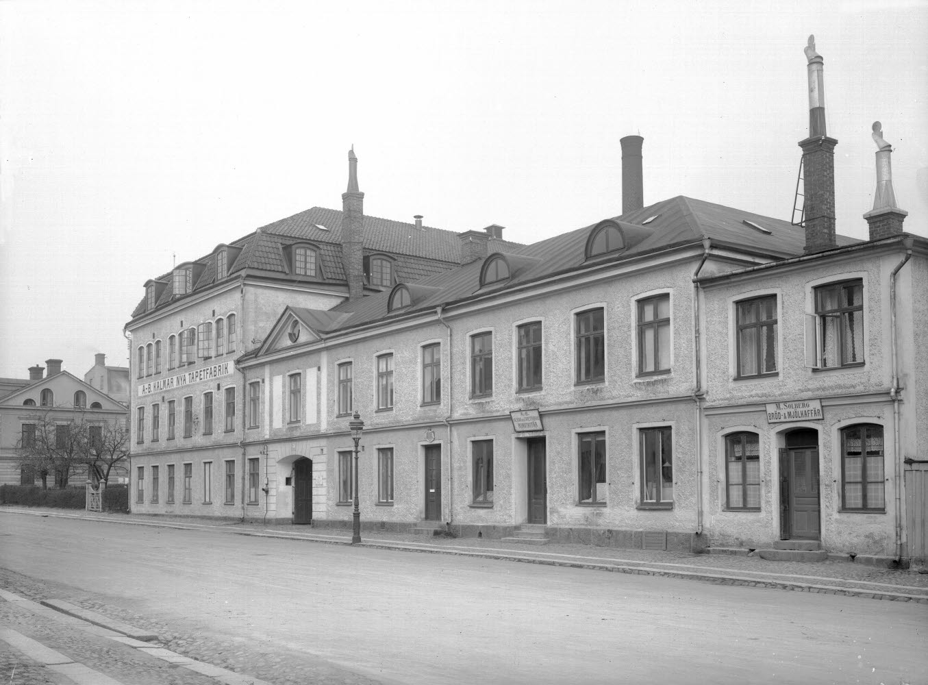 AB Kalmar nya tapetfabrik