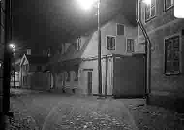 Gamla stan, Gamla Kungsgatan, kv Järneken, nattbild