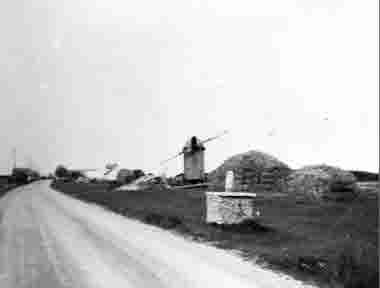 Landsväg Hulterstad 1954