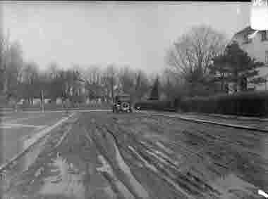 Odengatan mellan Bremergatan och Järnvägsgatan omkr 1928