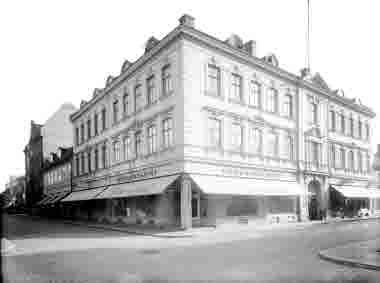 Hörnet Kaggensgatan - Södra Långgatan AB C H Olssons fastighet