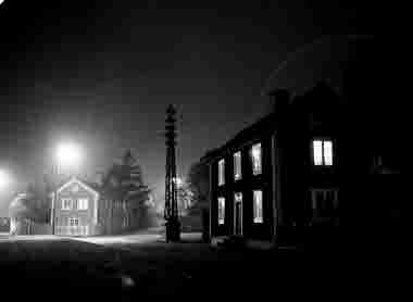 Gamla stan, Stora Dammgatan, nattbild