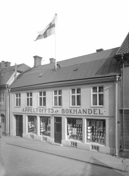 Appeltoffts Bokhandel Storgatan 12