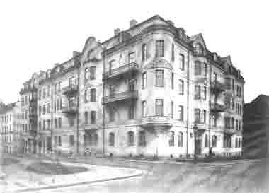 Bremerlyckan hörnet Frejagatan Vegagatan
