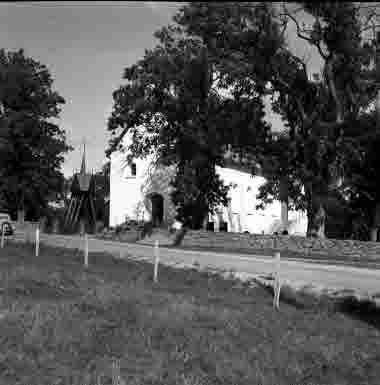 Halltorps kyrka 1950