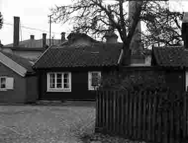 Gamla Kungsgatan vid litet torg omkr 1930