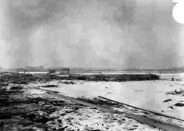 Fredriksskans, avstjälpningsplatsen