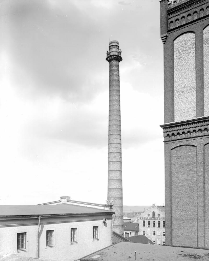 Skånska Cementgjuteriet, ångkvarnspipan