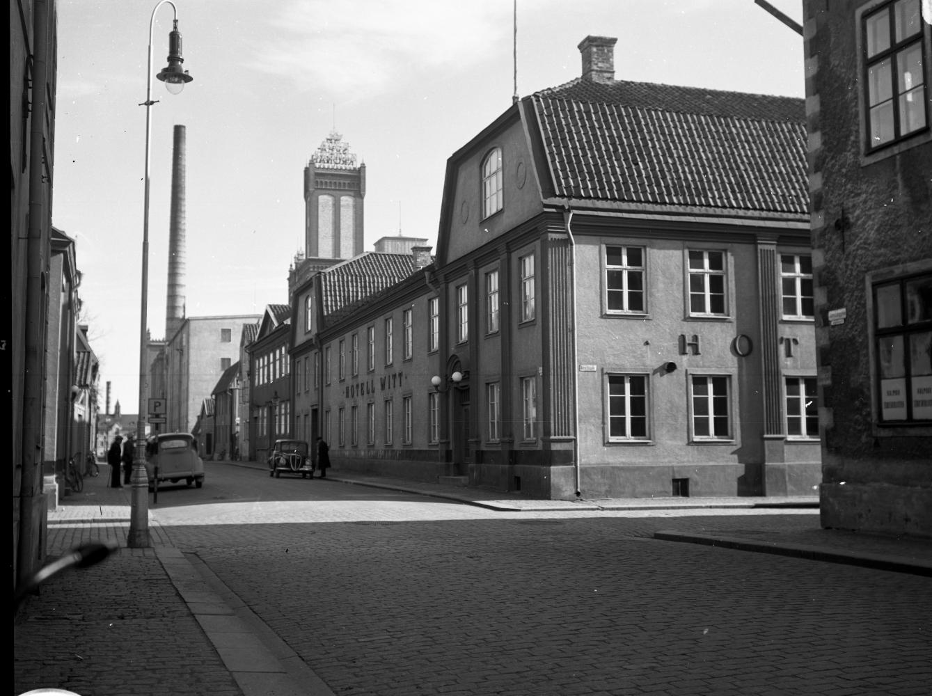 Gamla Hotell Witt mot Södra Långgatan