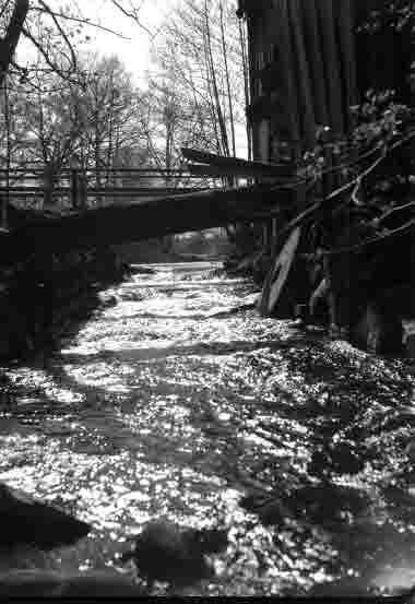 Kvarnen vid ån i Mortorp 14/5 1938