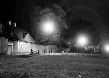 Gamla stan, Stora Dammgatqan,Krusenstiernska gården, nattbild